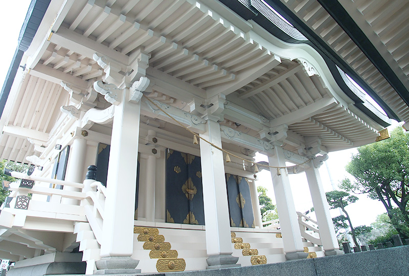 The Main Shrine (Honden)