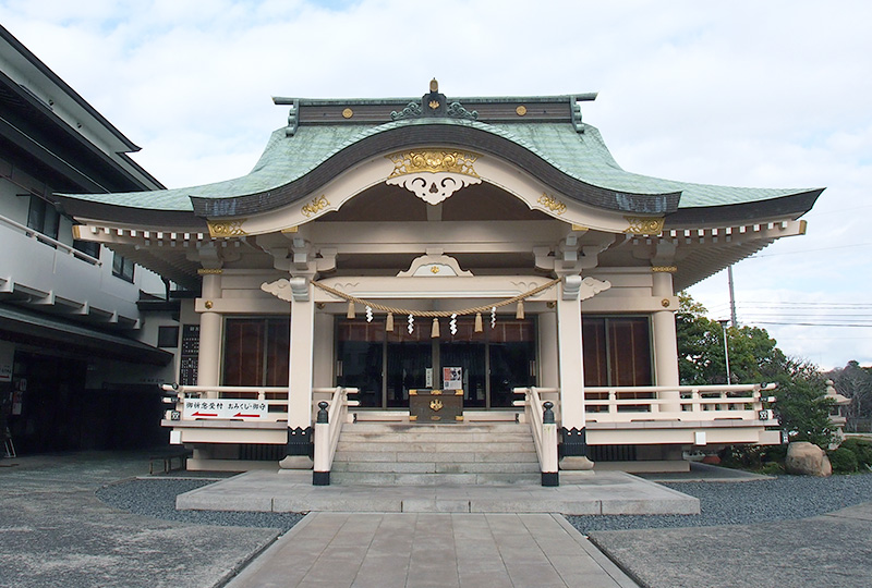The Front Shrine (Haiden)